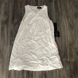 NWT Lulu's Ivory Sheath Keyhole Back Dress Medium